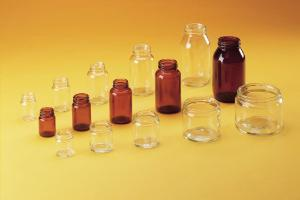 Ointment jars, squat, wide mouth