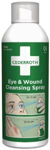 Eye and wound cleansing spray
