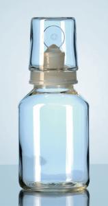 Botellas de ácidos, con tapón y tapa intercambiable, DURAN®